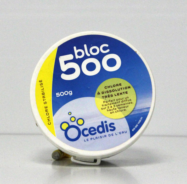 Chlore Bloc 500g