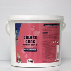 Chlore choc 20g 5 kgs drive piscine spa arrosage pompage for Chlore choc piscine