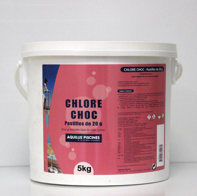 Chlore choc 20g 5 Kgs