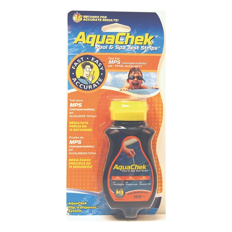 Testeur aquachek orange Oxygène Actif +ph+alka