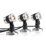LUNAQUA MAXI LED Set 3 Couleur Blanc chaud - 3 spots
