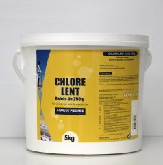Chlore lent 250g  5 Kgs