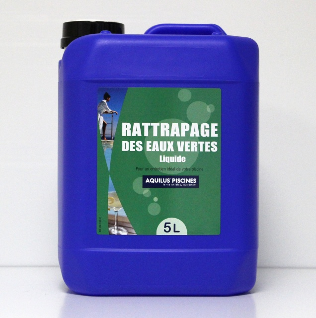 Les anti algues rattrapage eau verte 5l drive piscine spa for Algue verte piscine