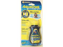 Testeur aquachek jaune chl+ph+alka