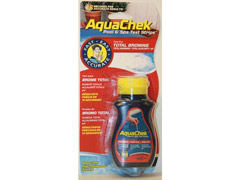 Testeur aquachek rouge brome/tac/ph